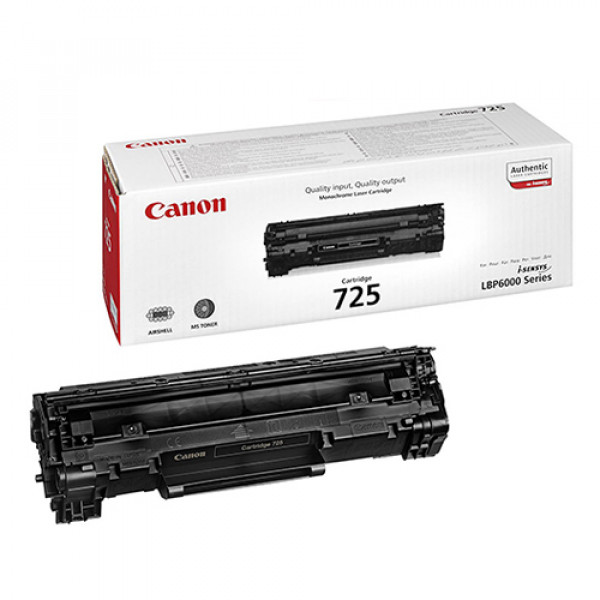 تونر مشکی Canon مدل 725